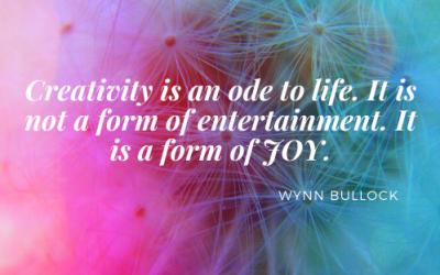 The Joy of Creativity